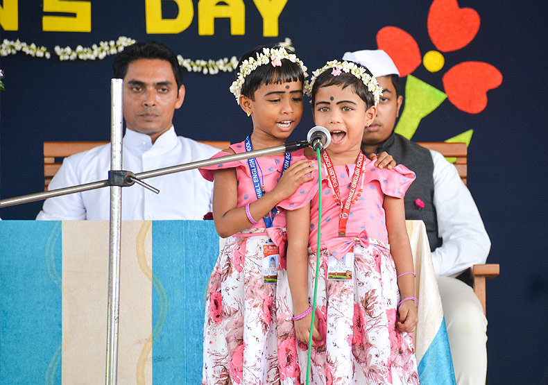 Benhill english school childrens day